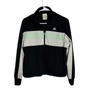 ADIDAS woman's zip up jacket size Medium